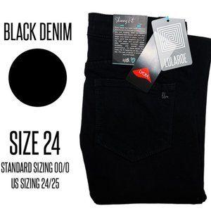 LuLaRoe Black Skinny Jeans - 24